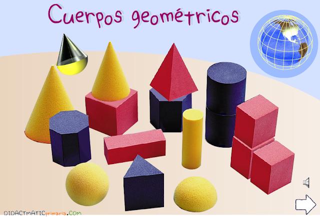 Cuerpos geométricos. Primer ciclo de Primaria