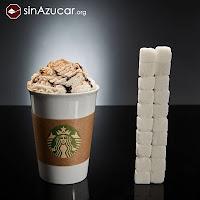 starbucks, azúcar, sinazucar.org