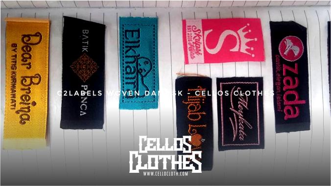 Bikin Label Woven Kaos