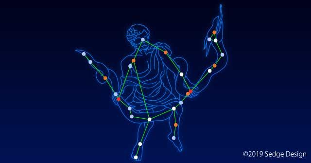 星座線の描き方 へびつかい座編 illustrator CC 使い方