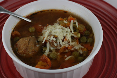 albondigas is a meatball soup. this is made in the crockpot slow cooker.