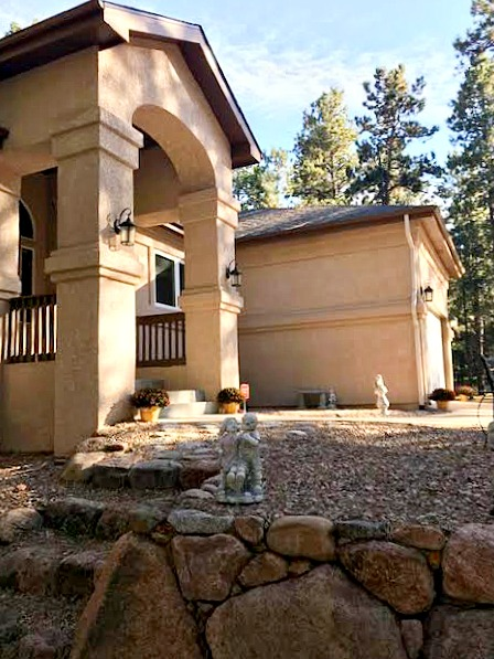 Side View Of New Colorado Home