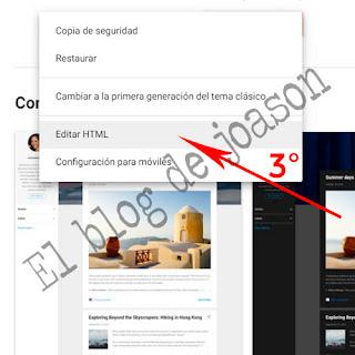 Shortcodes Blogger al estilo de WordPress seleccionamos html