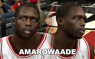 NBA 2K13 PC Modding Bulls Face Pack