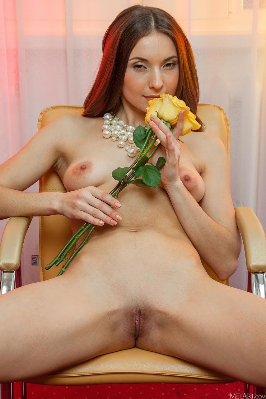 [Met-Art] Breann - Yellow Rose 2393524460
