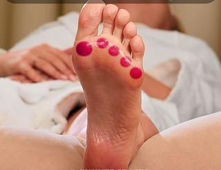titik refleksi di kaki