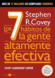 Los siete hábitos de la gente altamente efectiva portada del libro
