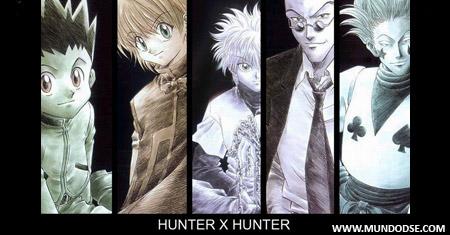 Hunter x Hunter sucesso garantido