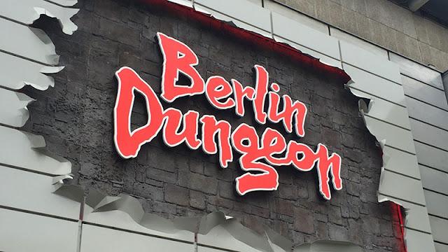 Fachada do espetáculo Berlin Dungeon