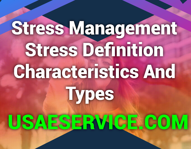 Stress Management in OB