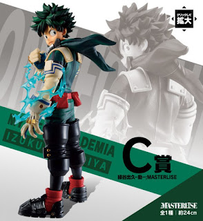 Ichiban Kuji My Hero Academia Let's Begin: Midoriya y Bakugo Masterlise, Banpresto