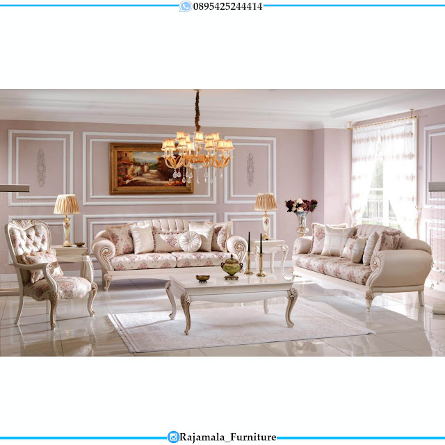 Great Quality Sofa Tamu Ukir Jepara Mewah Classic Design Luxury RM-0517