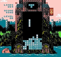 from below clon tetris