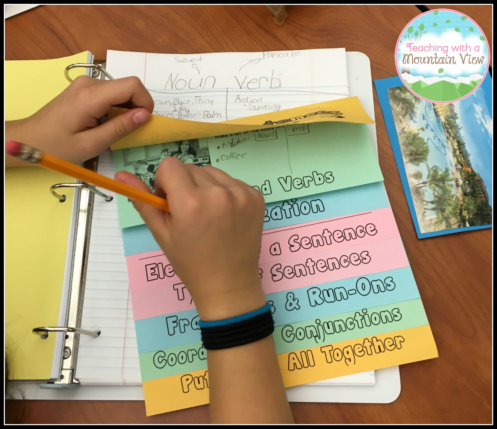 Teaching With A Mountain View Coordinating Conjunctions