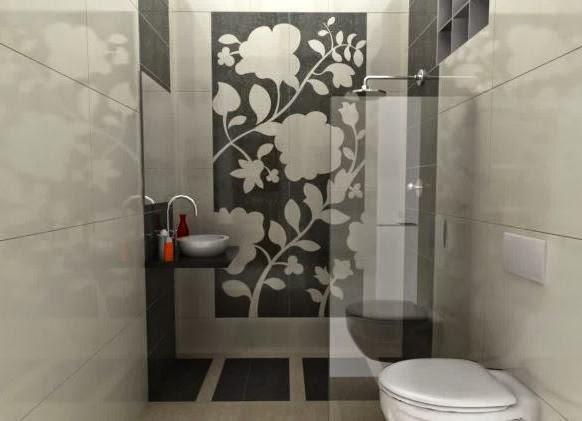 Model kamar mandi kecil yang cocok untuk rumah mungil
