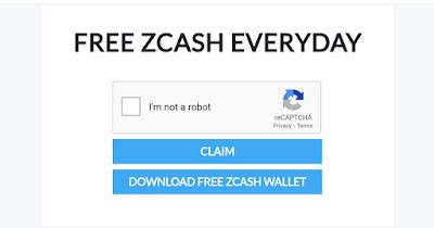 Free ZEC - Zcash Setiap Hari