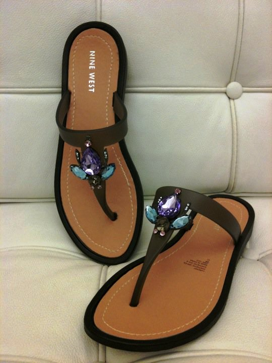 371aa8fb59 Savvy Find: Cute Nine West Jelly Sandals
