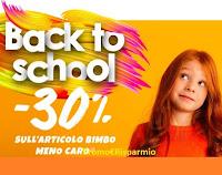 Promozione Pittarello sconto -30% per il ritorno a scuola