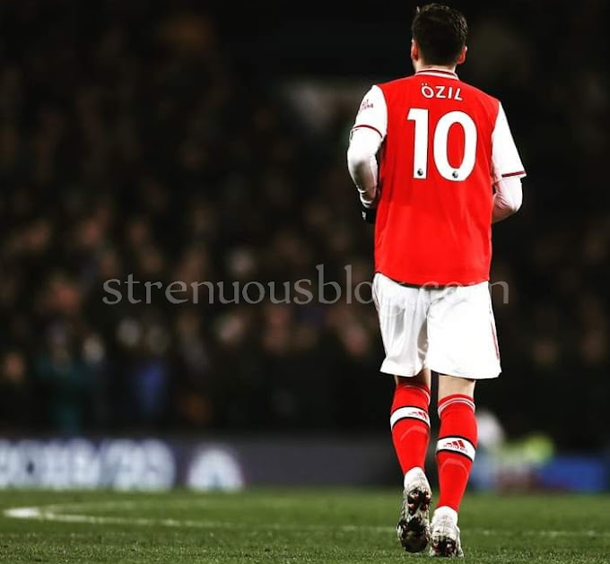 See Emotional message of Mesut Özil to Arsenal Club after being dropped from Arsenal's 25-man Premier League squad