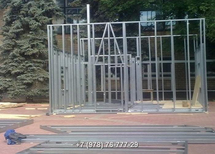 Строительство каркасных домов ЛСТК