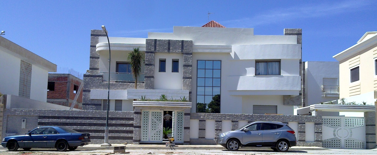 mourad el karima architecte d 39 interieur designer villa a1 un m lange entre le moderne le. Black Bedroom Furniture Sets. Home Design Ideas