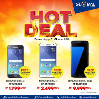 3 Tipe Samsung Bonus Powerbank di Global Teleshop