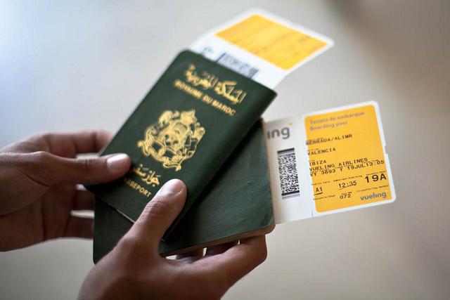 جواز سفر المغربي