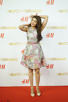 Pranitha Subash in lovely Flower Print Sleeveless Short dress ~  Exclusive 018.JPG