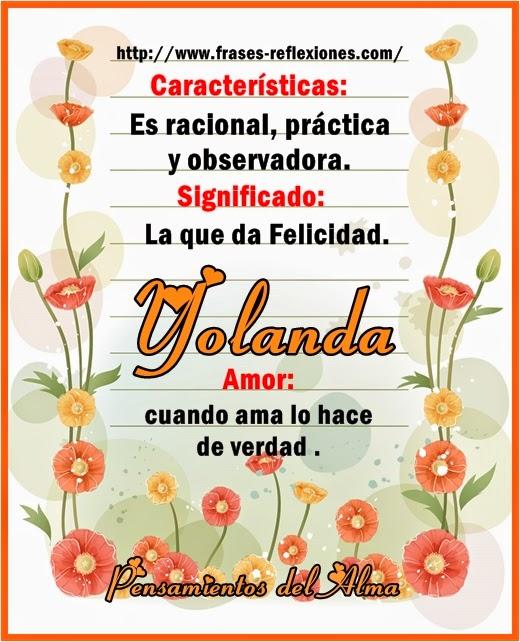 Felicitaciones De Cumpleanos Yolanda