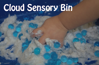 (Ivory Soap) Cloud Sensory Bin