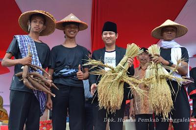Dolanan Tradisional Juga Ditampilkan dalam Trenggalek Ethnic Carnival 2018