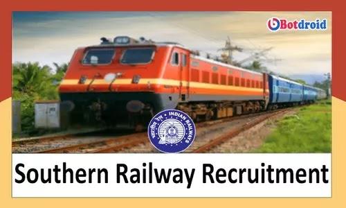 Southern Railway Recruitment 2021, Apply Online for 3378 Apprentice Job vacancies in Tamilnadu
