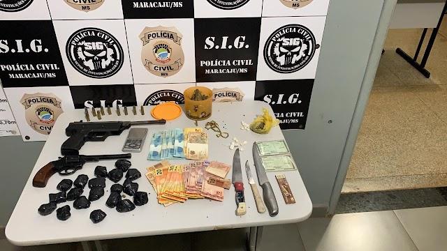 Ação conjunta desarticula braço de organização criminosa na região da Grande Dourados