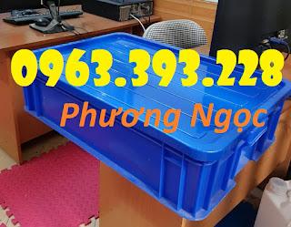 Thùng nhựa đặc cao 15, thùng nhựa HS007, thùng nhựa công nghiệp C5f7a6e25841bd1fe450