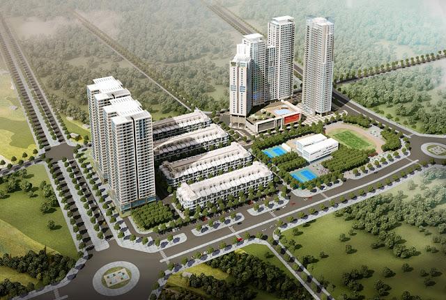 Phối cảnhDự án nhà ở chung cư cao cấp Hải Đăng HD Mon City