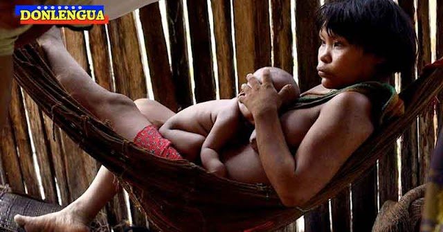 Maduro promete vacunar a todos los indígenas Yanomamis en sus hamacas