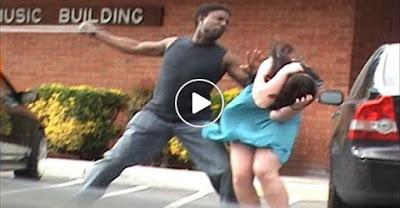 femeie batuta in strada