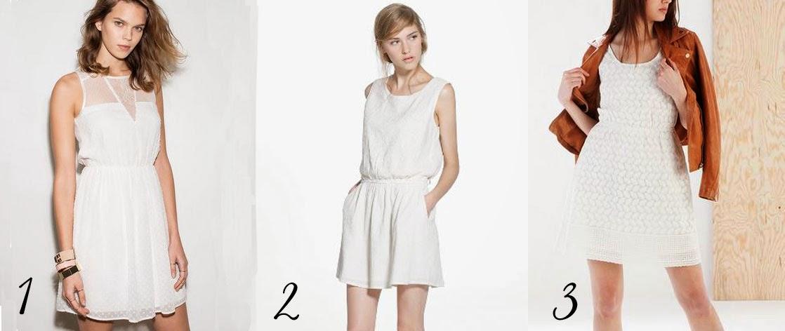 Top/Flop Tendances Printemps/Été 2015 robe blanche