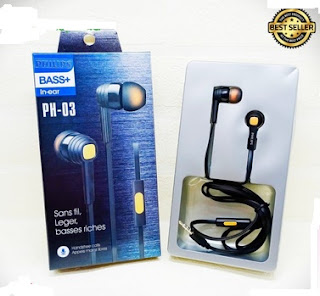 Headphone Phillips PH-03 Extra Bass + Sound precision HF