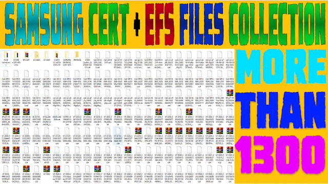 Samsung Cert+Efs Files Collection 2019 Free Download