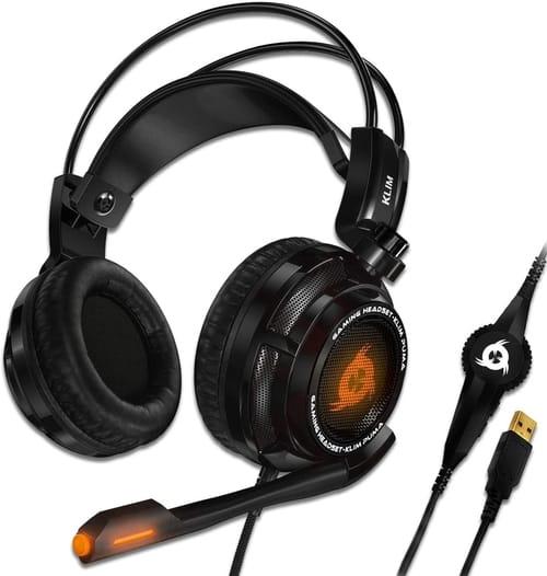 Review KLIM k200 Puma USB Gamer Headset with Mic