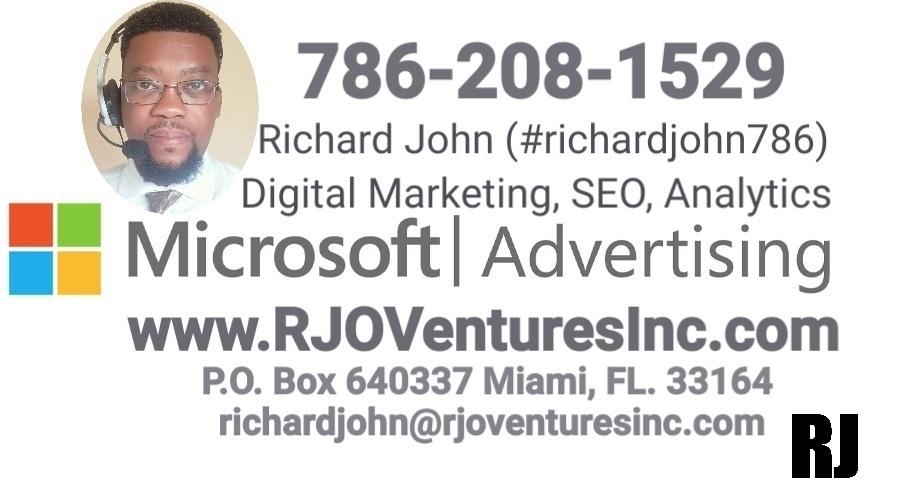 Digital Marketing, Utilizing Microsoft Advertising [RJOVenturesInc.com]