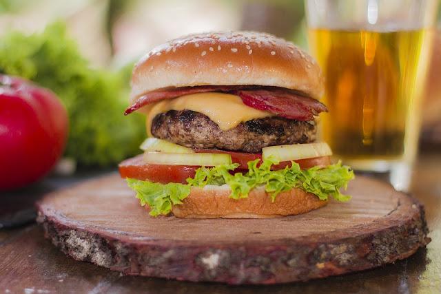 Delicious burger recipe rvrecipes