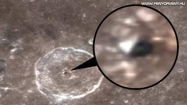 Piramist fedeztek fel a Holdon (VIDEÓ)