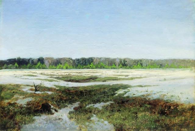 Исаак Ильич Левитан - Ранняя весна. 1890-е