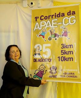 Resultado de imagem para Autoridades municipais prestigiam o lançamento da 1ª. Corrida da APAE de Campina Grande e esperam contar com o apoio da comunidade