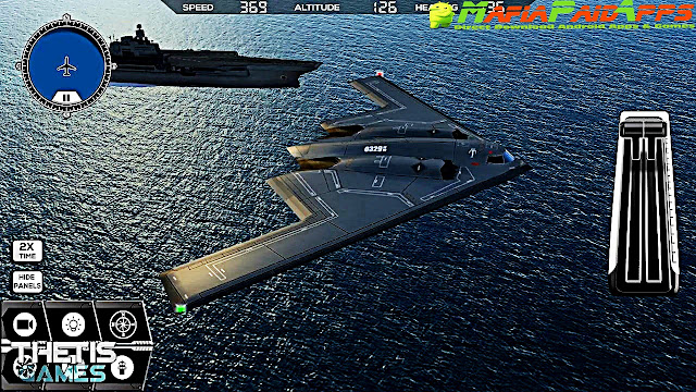 Flight Simulator FlyWings 2017 HD Apk + Mod (a lot of money