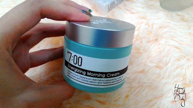 Monthly Project; Jill2 7AM Energizing Morning Cream
