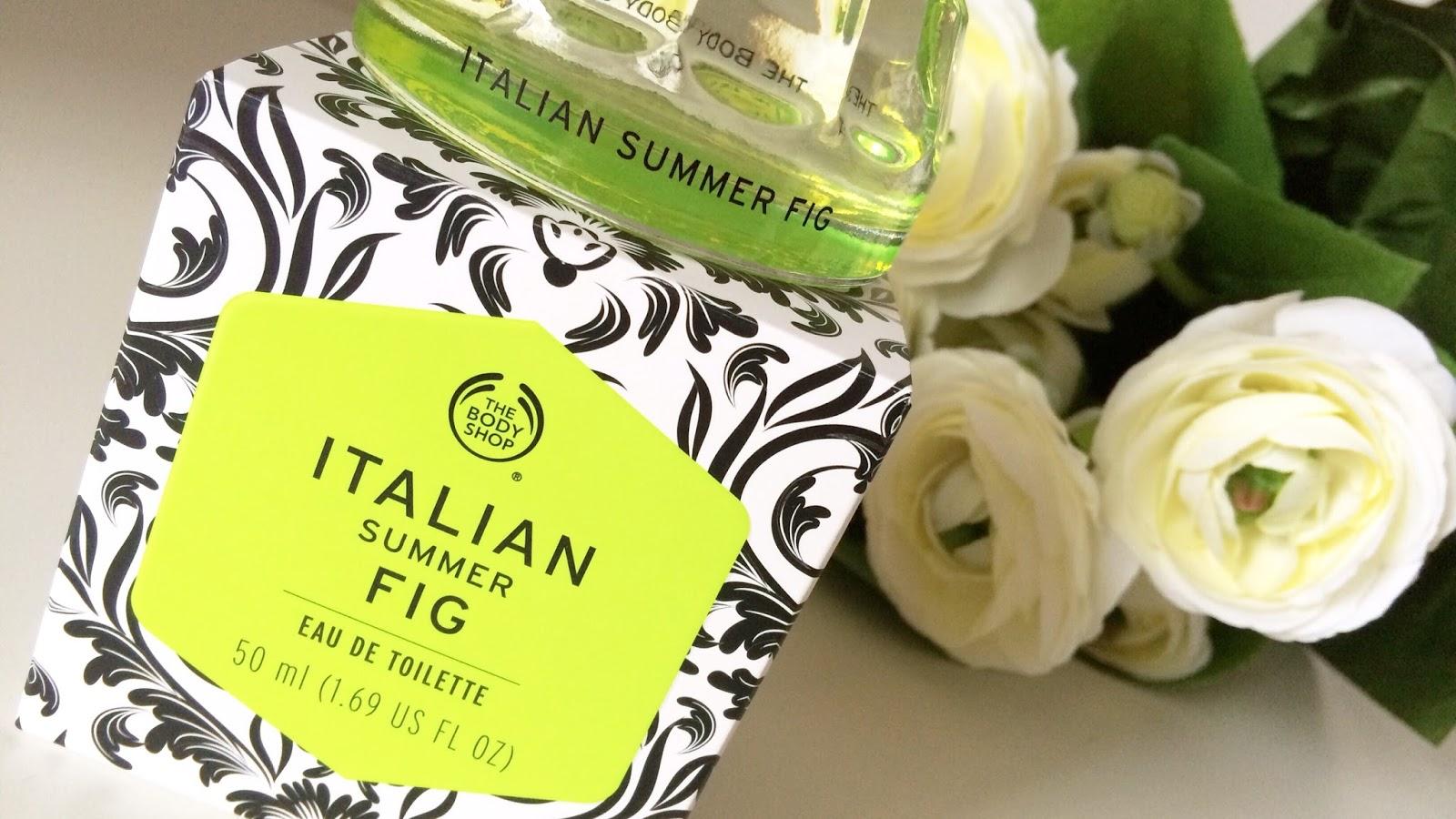 The Body Shop perfume Italian summer fig
