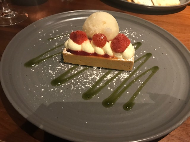 Lea Marston, Hotel & Spa, Sutton Coldfield, Food, Strawberry Tart,